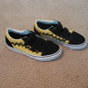 Peanuts Vans - Charlie Brown